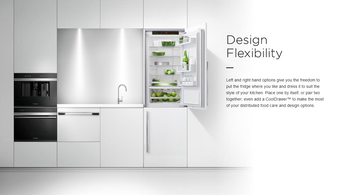 Buitin Fridges Design Flexibility