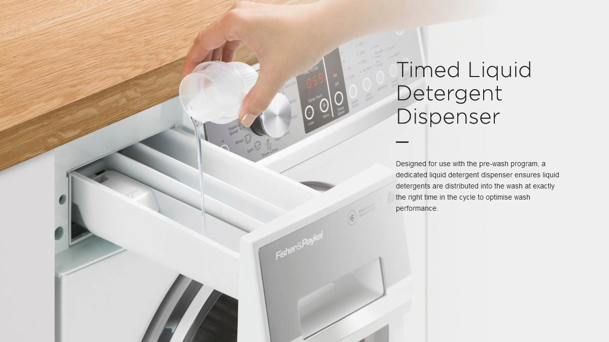 Wash Timed Liquid Detergent Dispenser