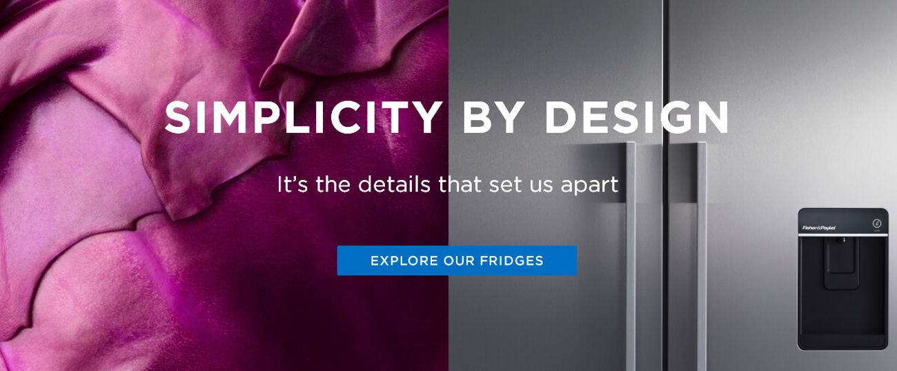 Simplicity By Design Explore Our Fridges